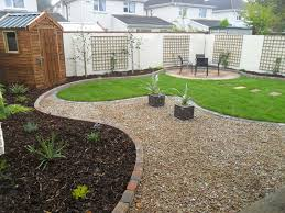 Pea Gravel And Epoxy Patio by Garden Design Drogheda Co Louth Landscaping Drogheda Patio
