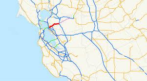 Oakland California Map California State Route 24 Wikipedia