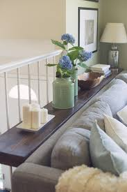 Narrow Sofa Table 30 Diy Sofa Console Table Tutorial Sue Design