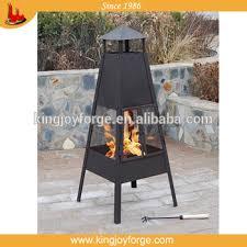 Steel Firepit Outdoor Chimeneas Chimneys Steel Firepit Tower Chimenea Buy