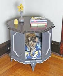 How To Make A Dog Bed Side Table How To Make A Dog Bed Out Of A Side Table Diy Dog Bed