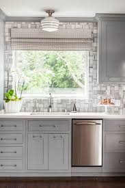 gray natural light kitchen ideas gray kitchen cabinet glass