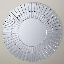 ls plus round mirror john lewis morello glass mirror dia 80cm clear at john lewis
