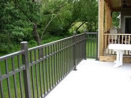 railing lowes porch railing lowes railing prefab decks