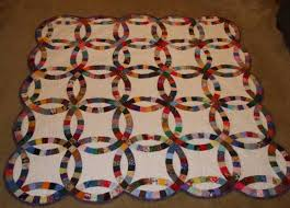 wedding ring quilt for sale made quilts for sale