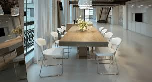 Contemporary Dining Table by Astor Extendable Modern Dining Table