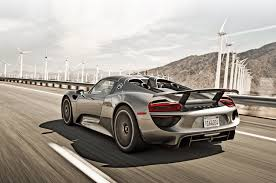 porsche 918 porsche 918 spyder meets 959 on ignition