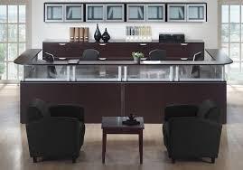 ndi office furniture reception desk suite w storage plb04