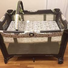 Pink And Brown Graco Pack N Play With Changing Table Pack N Play For Sale 5miles Buy And Sell