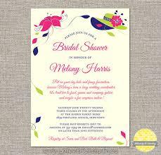 custom bridal shower invitations big hats and fascinators custom bridal shower invitation diy