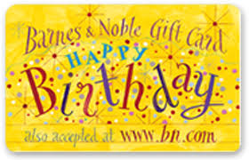 free look 25 barnes and noble happy birthday gift card