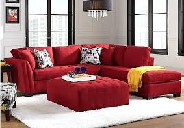 Sleeper Sofa Sectional With Chaise by Sectional Cindy Crawford Home Metropolis 4 Pc Microfiber