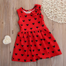 Minnie Mouse Clothes For Toddlers Online Get Cheap Minnie Mouse Party Dress Aliexpress Com