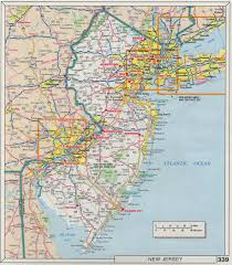New Jersey Map The Web Shell