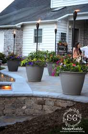 Inexpensive Patio Ideas Patio Ideas For Backyard On A Budget Breathingdeeply