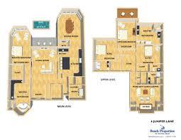 Juniper Floor Plan Forest Beach Rental Homes Hilton Head Island 6 Juniper Lane