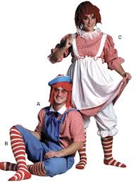 Raggedy Ann Andy Halloween Costumes Adults Distinct Costumes