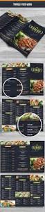 82 best menus images on pinterest restaurant menu design cafe trifold food menu 04