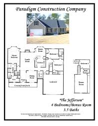 jefferson floor plan griffin manor all star realty group llc winder georgia real