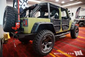 2017 sema rugged ridge commando jeep jk wrangler unlimited
