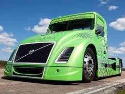 volvo heavy truck 2010 volvo vnl mean green hybrid truck semi tractor rig rigs g