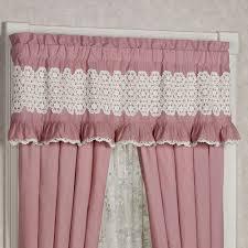 Ruffle Bottom Blackout Panel by Memories Crochet Ruffled Window Treatment