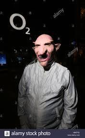 manchester uk 30th oct 2016 a man wearing a halloween mask