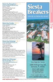 Siesta Key Beach Cottage Rentals by Siesta Key Visitor Guide Simplebooklet Com