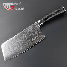 asian cleaver chopping and meat carving japanese damascus vg10 67