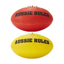 football afl footballs ball pumps u0026 mouthguards kmart