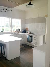 white wall interior paint decoration with island also granite