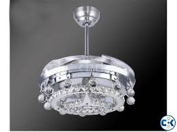 Ceiling Fan Crystal by Led Ceiling Fan Crystal Light Dining Room Living Room Fan Clickbd