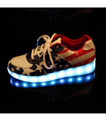 light up tennis shoes for adults glidekicks womens light up led shoes usa america low top lace sneakers