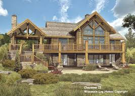 19 unique log home designs log home floor plans by wisconsin log