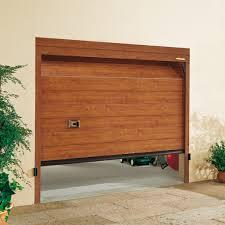 porta sezionale porta sezionale horizon con pannello coibentato con snodo in