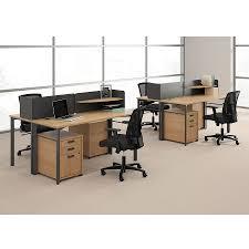 Modern Desk With Storage by Marlin Modern 60 In Wheat Desk Eurway Furniture