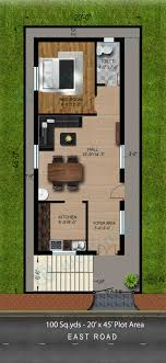 25x50 house plan south facing House plans