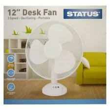 12 inch 3 speed oscillating fan status 3 speed oscillating desk fan 12 12in s12deskfan1pkb ebay