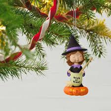 sweet trick or treater witch s ornament