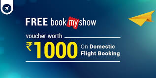 bookmyshow offer expired goibibo bookmyshow offer free rs 1000 bms voucher on