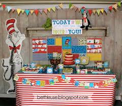 dr seuss birthday party ideas beth kruse custom creations dr seuss on the