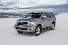 toyota cars website 2017 toyota sequoia 4x4 platinum first test size matters motor