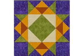easy garden maze quilt block pattern