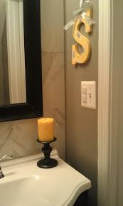 simple photo of admirable yellow bathroom decor with toilet seat