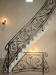 Fer Forge Stairs Design Res D Escalier En Fer Forgé Style Classique Modèle Ranelagh