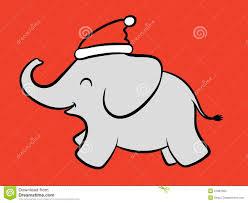 christmas elephant clipart clipartxtras