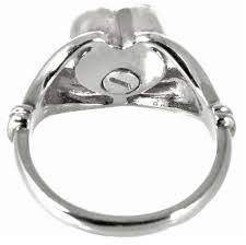 cremation jewelry rings cremation jewelry sterling silver heart ring