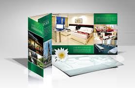 contoh desain brosur hotel contoh brosur apartemen kabar blok