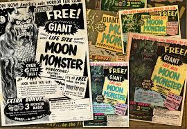 monster list of halloween projects moon monster u2013 animated 1970 comic book ad jason willis