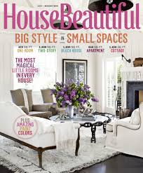house beautiful july august 2012 celebrates small spaces with big